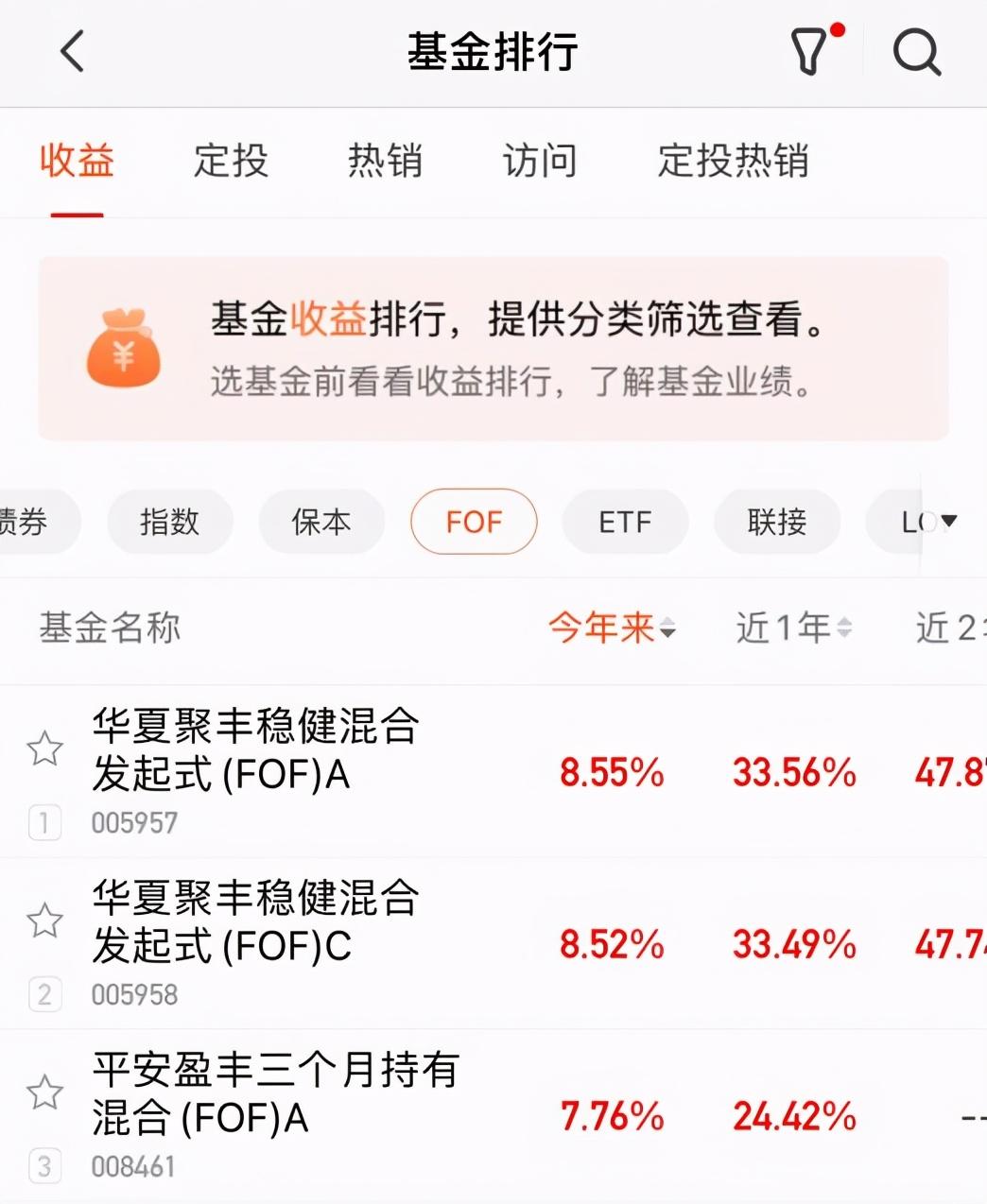 """震荡市买FOF是真""""香"""",华夏基金绩优FOF业绩排名第一"""